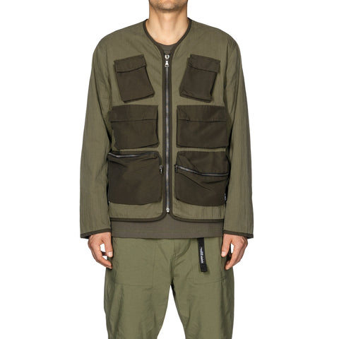 HAVEN Tactical Liner Jacket - Cotton Nylon Ripstop Olive, Outerwear