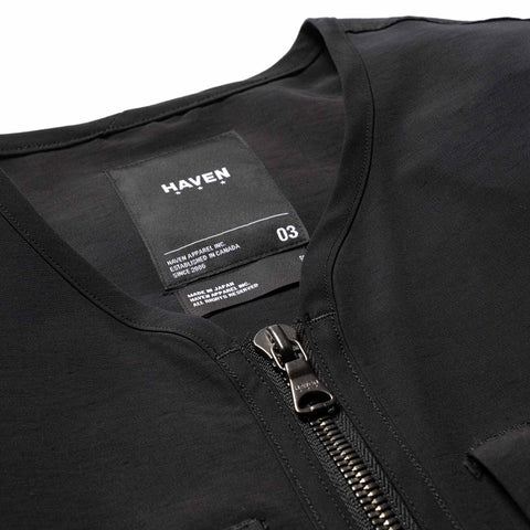 HAVEN Scout Liner - Cotton Nylon Grosgrain Black, Outerwear