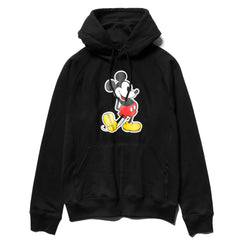 TAKAHIROMIYASHITA TheSoloist. Mickey Mouse Pullover Hoodie Black x Original, Sweaters