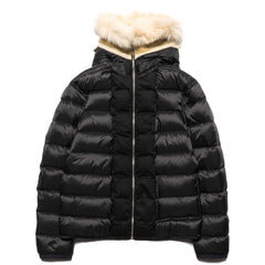 ten c Down Liner Shearling Hooded Black