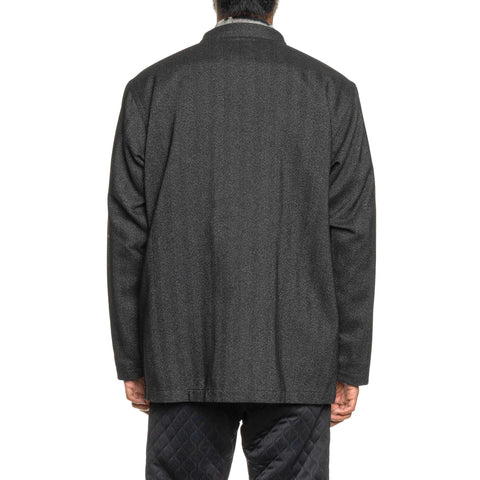 The Conspires HB Stand Collar Jacket Charcoal, Outerwear