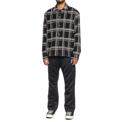 The Conspires Long Sleeve Checked Shirt Black/White, Shirts