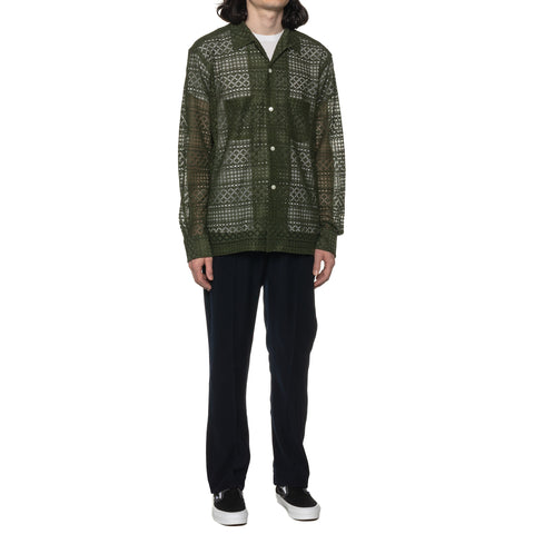 THE CONSPIRES Long Sleeve Shirt Olive, Shirts