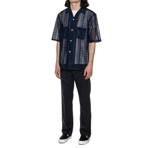THE CONSPIRES Short Sleeve Shirt Navy, T-Shirts