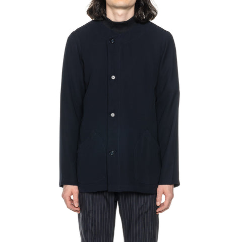 THE CONSPIRES Solid Jacket Navy, Outerwear