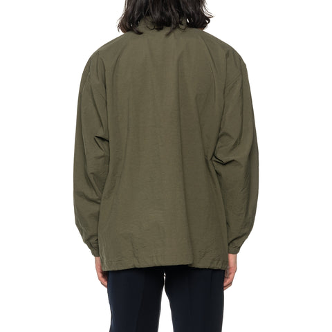 THE CONSPIRES Stand Collar Jacket Olive, Outerwear
