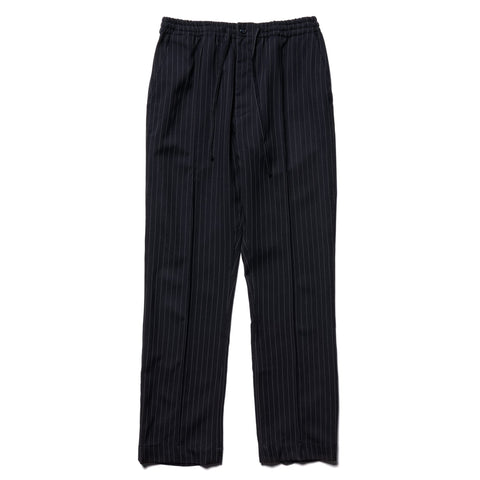 THE CONSPIRES Striped Pant Navy, Bottoms