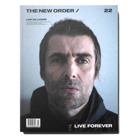 The New Order Vol.22 LIAM GALLAGHER -Live Forever-, Publications
