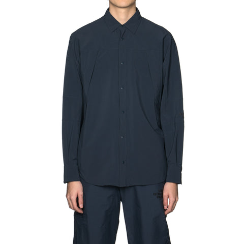 The North Face Black Series x Kazuki Kuraishi 80s LS Shirt AP Urban Navy, Tops