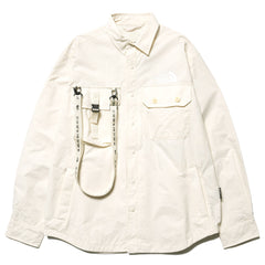 The North Face Black Series x Kazuki Kuraishi Coach Shirt White, Jackets