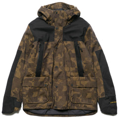 The North Face Cryos Insulated Mountain Jacket GTX Bronze Mist Jacquard/Weathered Black
