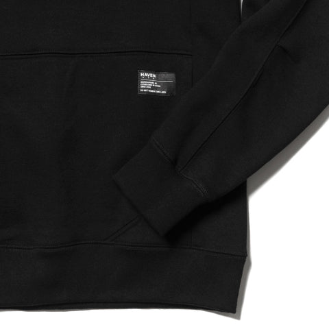 HAVEN Training Crewneck - Cotton Fleece Black, Sweaters