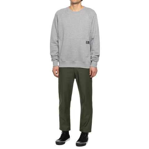 HAVEN Training Crewneck - Cotton Fleece H.Gray, Sweaters