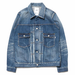 HAVEN Washed Denim Trucker Jacket