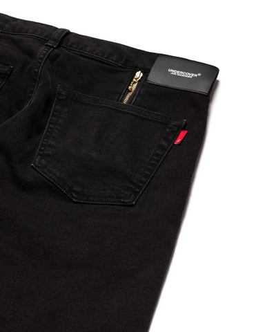 UNDERCOVER UC1A4509-1 Pants Black, Bottoms