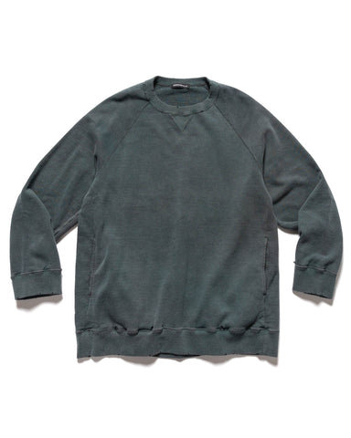 UNDERCOVER UC1A4802 Crewneck Sweater Green Gray, Sweaters