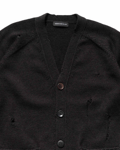 UNDERCOVER UC1A4906 Knit Cardigan Black, Knits