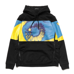 UNDERCOVER UCV4804 Pullover Hoodie Black Base, Sweaters