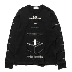 UNDERCOVER UCV4891-4 LS Tee Black, T-Shirts