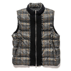 UNDERCOVER UCZ4003-1 Vest Gray Check, Outerwear