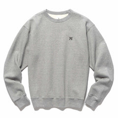 Uniform Experiment Authentic Wide Crewneck Sweater Gray, Sweaters
