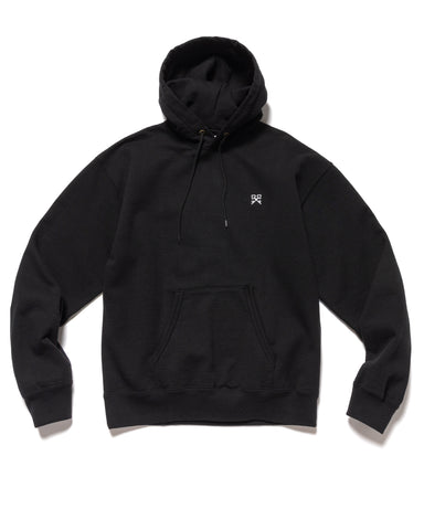 Uniform Experiment Authentic Wide Sweat Hoodie Black, Sweaters