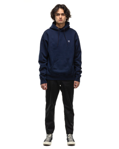 Uniform Experiment Authentic Wide Sweat Hoodie Navy, Sweaters