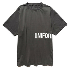 Uniform Experiment Authentic Wide Tee Charcoal Gray, T-Shirts
