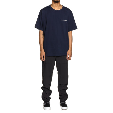 Uniform Experiment Back Paneled Wide Tee Navy, T-Shirts
