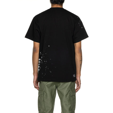 Uniform Experiment Dripping Tee Black, T-Shirts