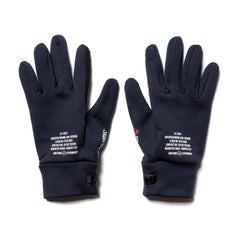 Uniform Experiment Polartec Power Stretch Gloves Navy, Accessories