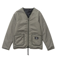 Uniform Experiment Reversible Zip Liner Khaki, Jackets