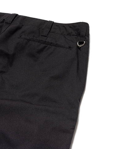 Uniform Experiment Side Pocket Tapered Pants Black, Bottoms