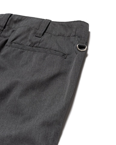 Uniform Experiment Side Pocket Tapered Pants Charcoal Gray, Bottoms