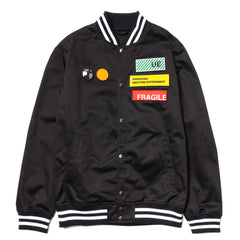 Uniform Experiment Stadium Blouson Black, Outerwear