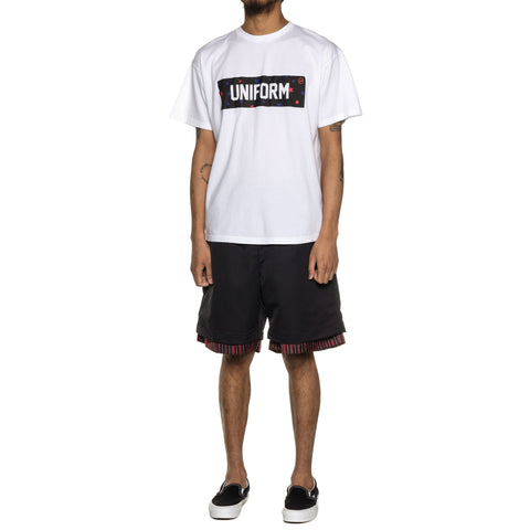 Uniform Experiment Star Box Logo Tee White, T-Shirts