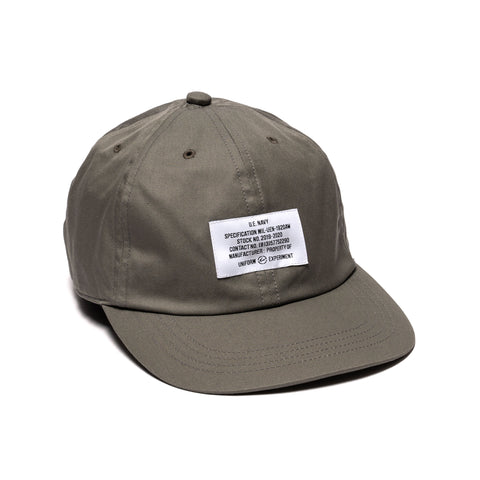 Uniform Experiment UEN Gabardine Cap Gray, Headwear