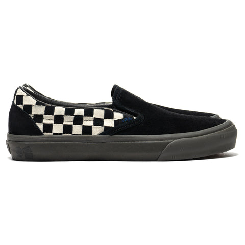 79a46afa57 Vans Vault x Taka Hayashi Slip-On LX Woven Suede Checkerboard