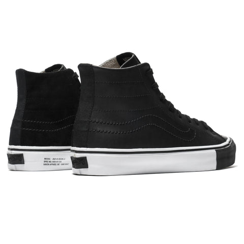 HAVEN / Vans Vault SK8-Hi Decon LX Black/True White, Footwear