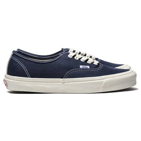 Vans Vault OG Authentic LX (Canvas/Suede) Dress Blue, Footwear