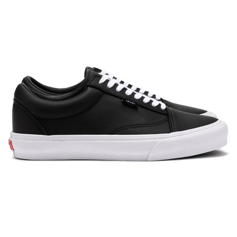 Vans Vault Old Skool NS VLT LX (Leather) Black, Footwear