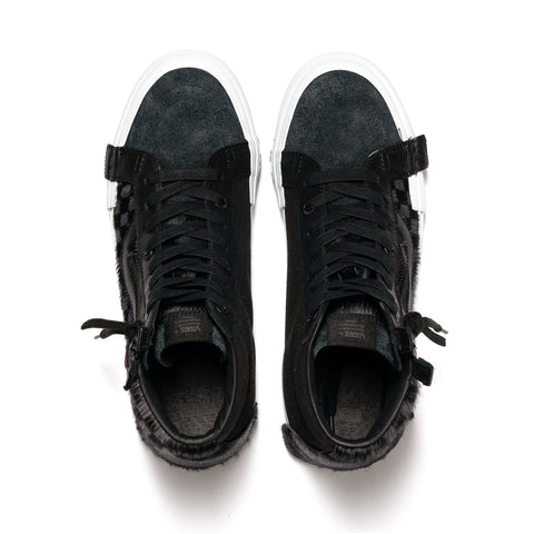 Vans Vault SK8-Hi Cap LX (Pony) Black/True White, Footwear