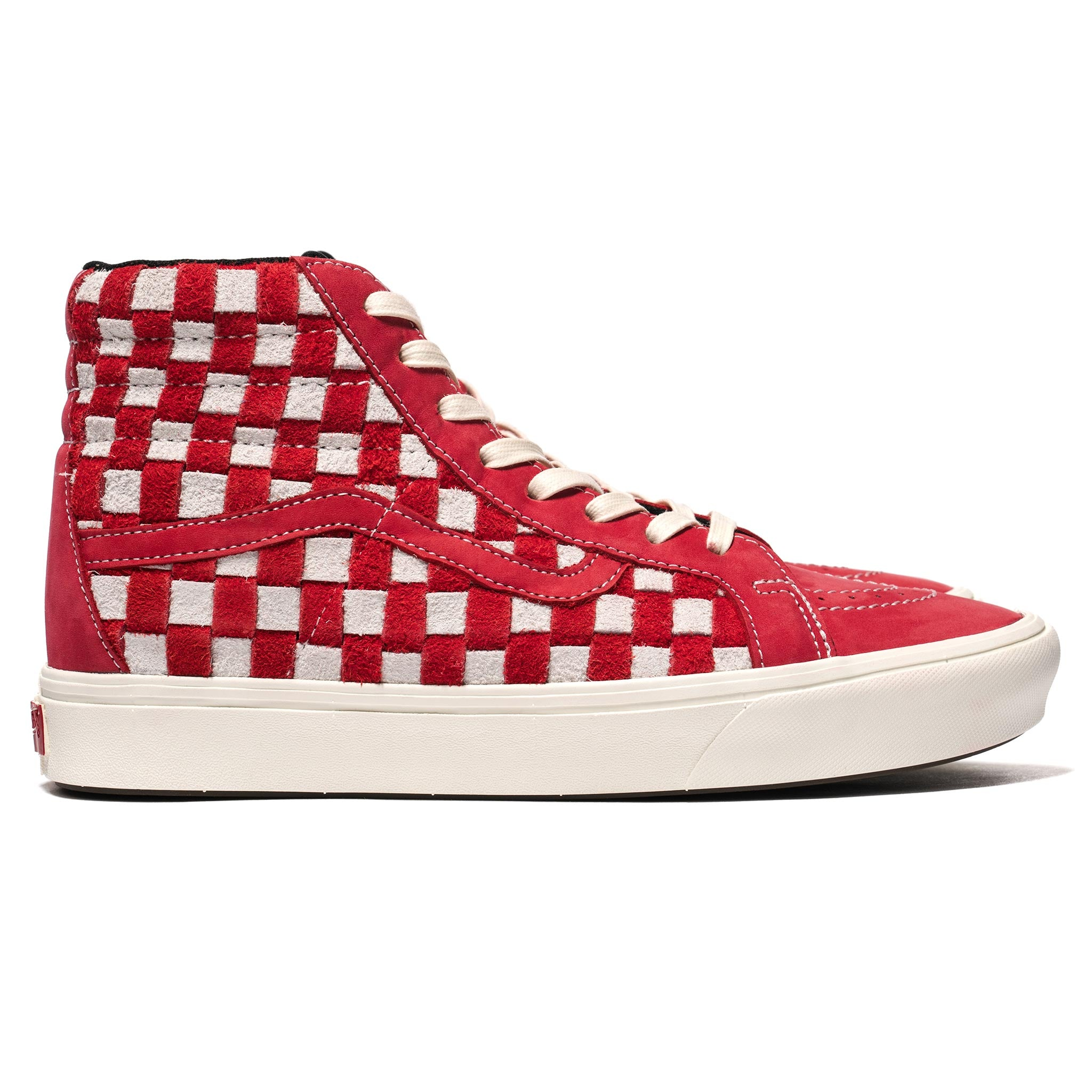 8be667c400 SK8-Hi Reissue LX Comfycush (Hairy Suede  Nubuck) Racing Red – HAVEN