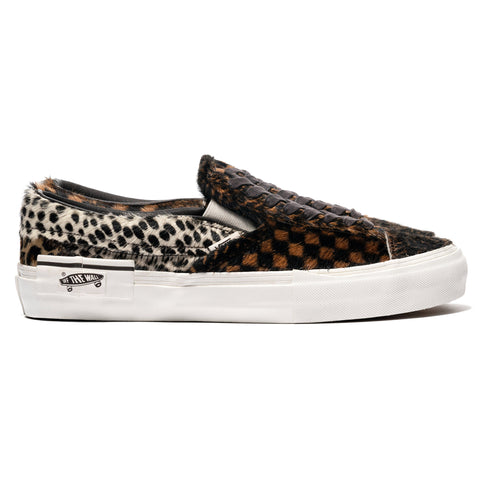 b3f88c4a541 Vans Vault Slip-On Cap LX (Pony) Multi Marshmallow