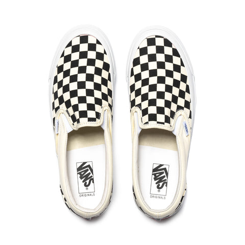 Vans Vault UA OG Classic Slip-On (Canvas) Checkerboard, Footwear