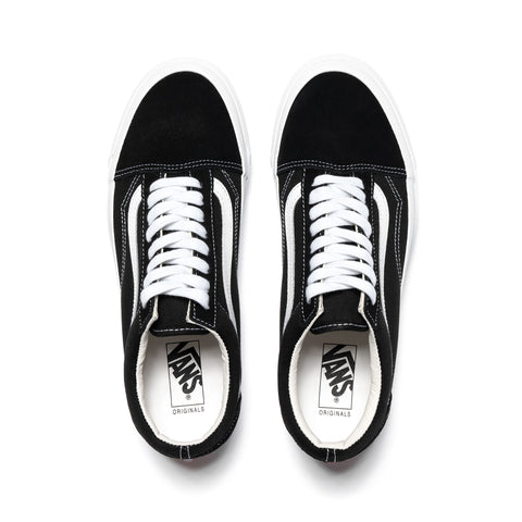 Vans Vault UA OG Old Skool LX(Suede/Canvas) Black/True White, Footwear