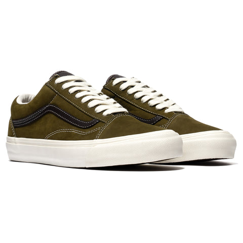 Vans Vault UA OG Old Skool LX (Nubuck/Leather) Chocolate Chip/Black Coffee, Footwear