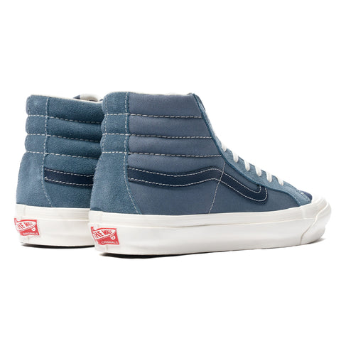 Vans Vault UA OG Style 138 LX Blue Mirage/Dress Blues, Footwear