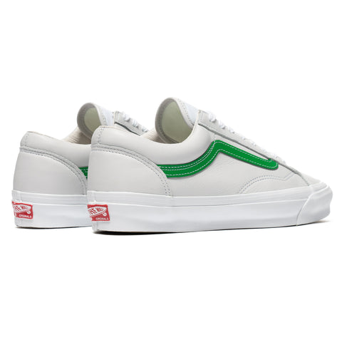 Vans Vault UA OG Style 36 LX (Leather) Green, Footwear