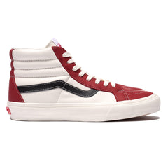 Vans Vault UA SK8-Hi Reissue VLT LX (Leather) Chili Pepper/Marshmallow/Black, Footwear